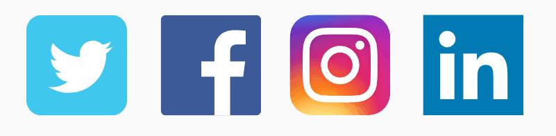 Volg Nationale Horeca Vacatures op social media